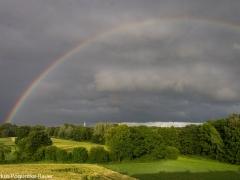 Regenbogen über Gremmendorf