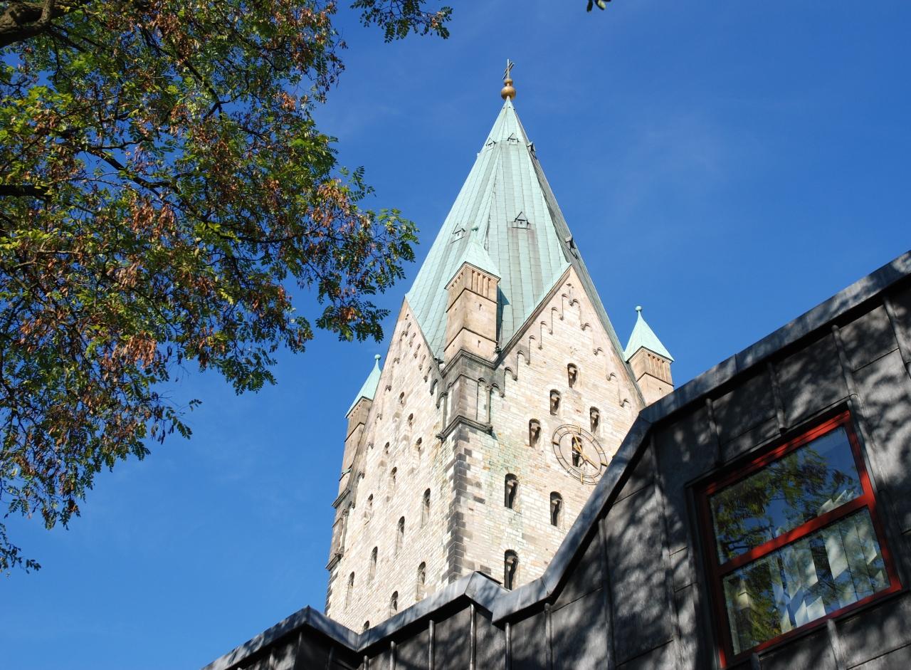 Dom in Paderborn ...