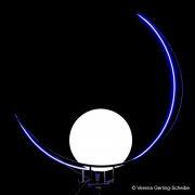Unna, Nachtaufnahme, Licht, Lampe, Bogen, Minimalismus, Friedhof